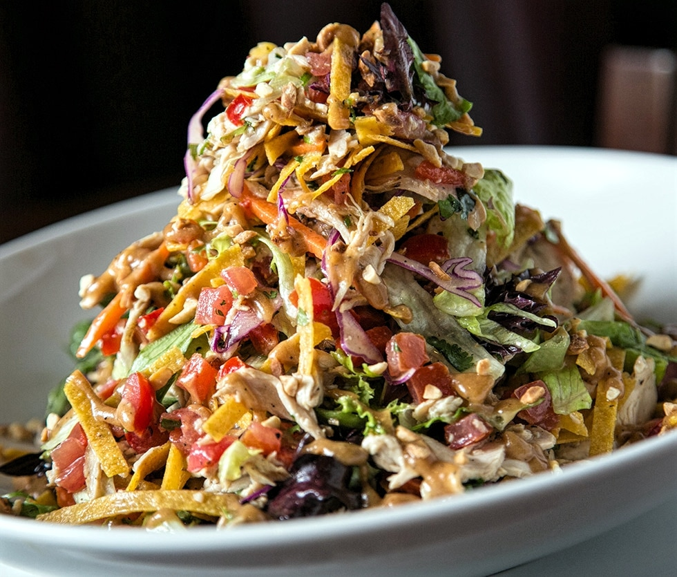 "The ""Tavern"" Grilled Chicken Salad"